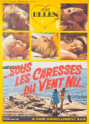 Vintage French movie poster - Sous les caresses du vent nu